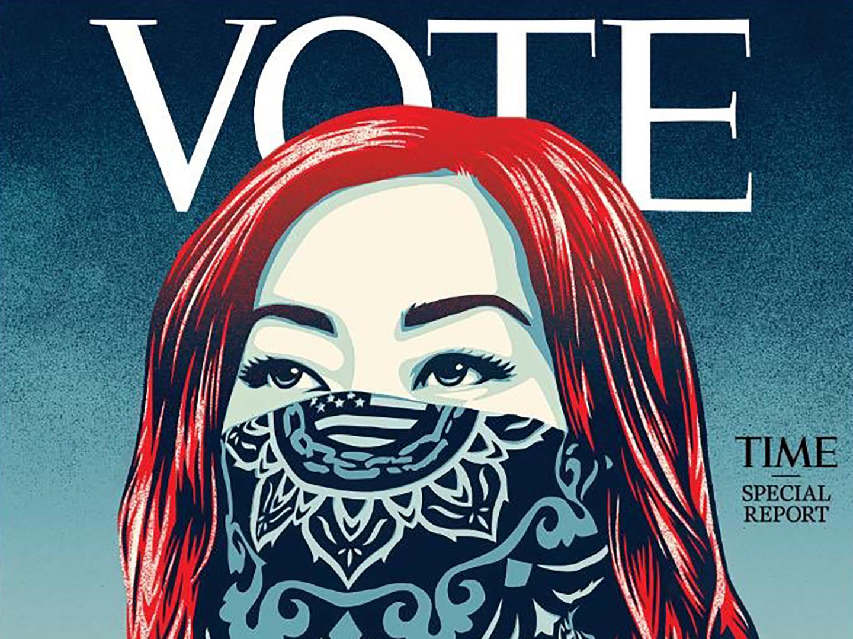 Vote Time usa élection présidentielle Etats-Unis