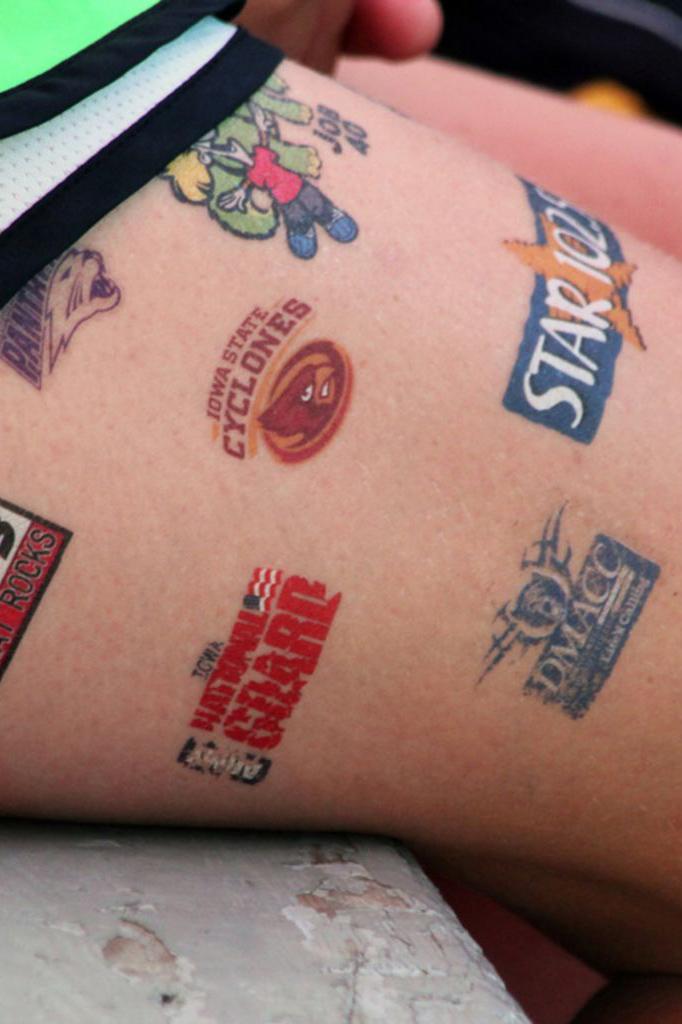 Le Tatouage Nouveau Support Publicitaire Hush